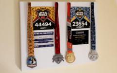 RunDisney Star Wars half marathon medals