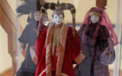 Queen Amidala dolls