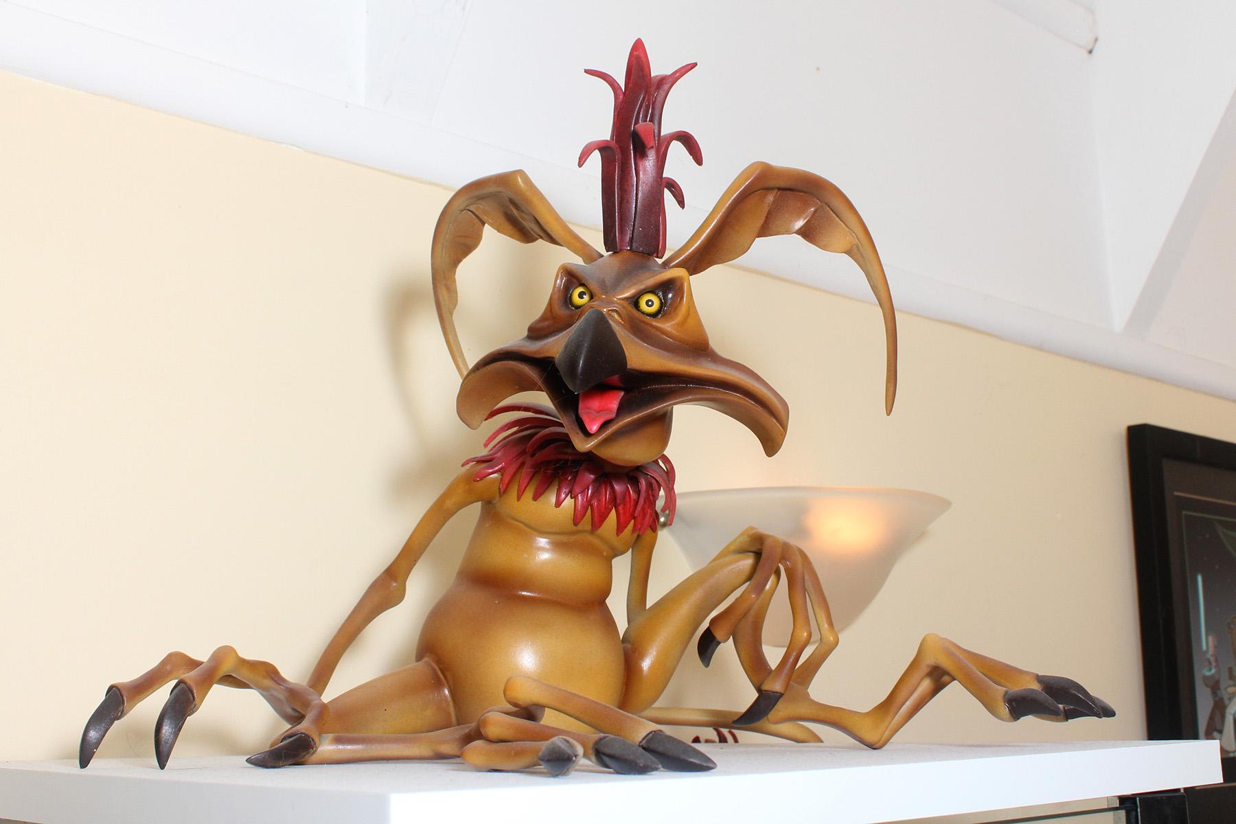 Animated Salacious Crumb maquette