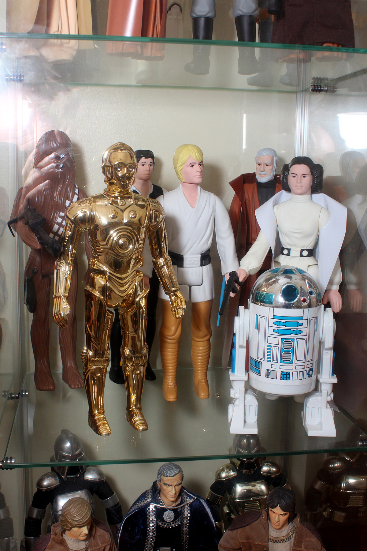 Gentle Giant Jumbo vintage action figures