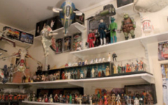 Star Wars action figure room