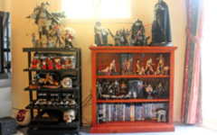 Star Wars shelf displays