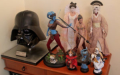 Darth Vader helmet (eFX Collectibles), Sideshow Premium Format statues, Tonner dolls