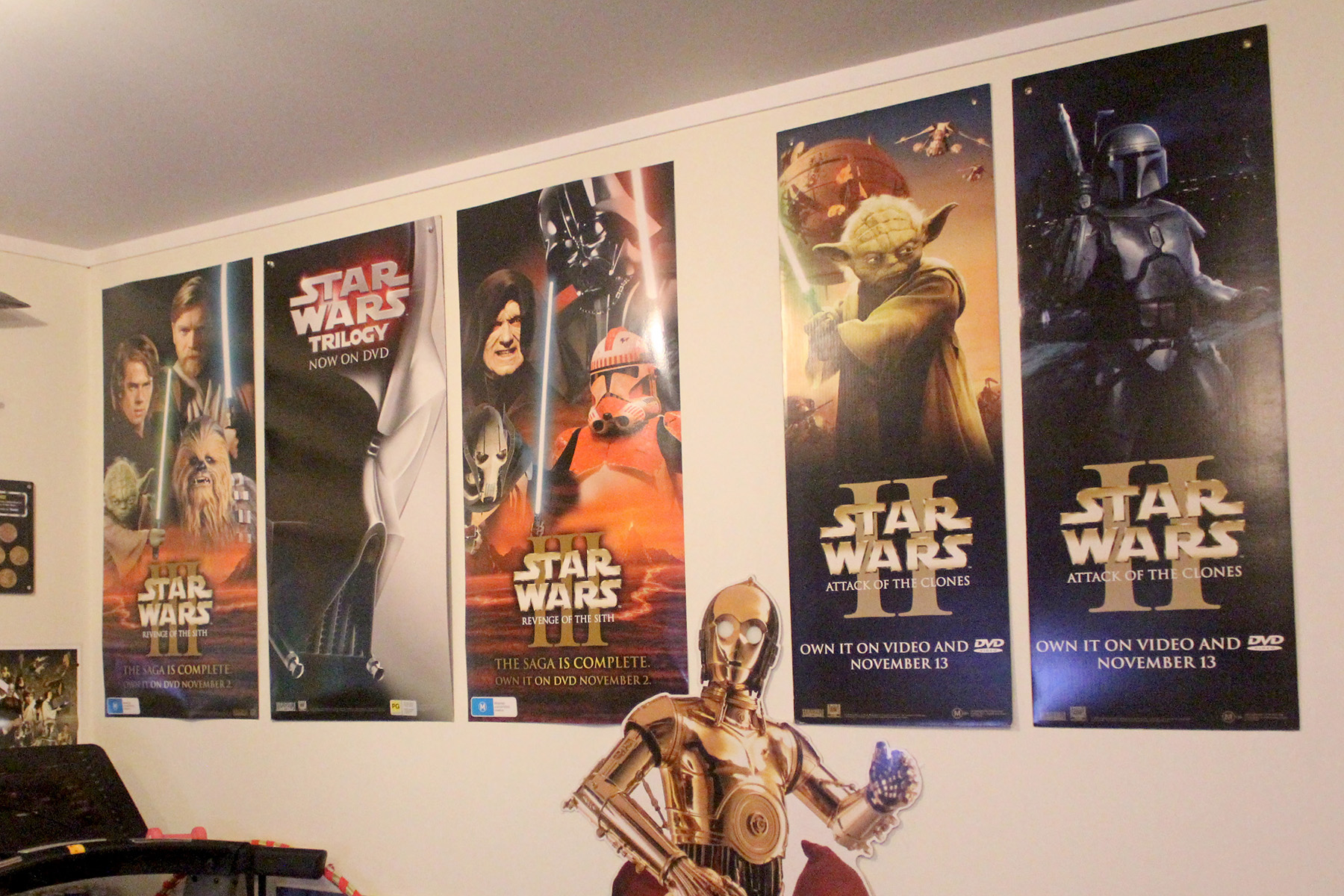 Star Wars DVD release posters