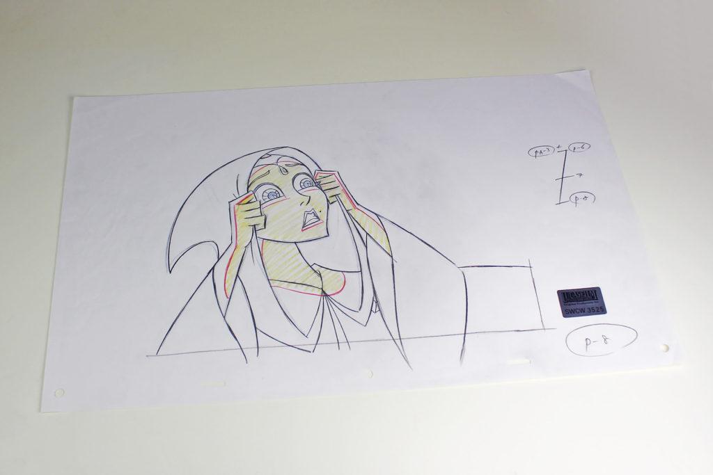 Clone Wars Padme Amidala Original Production Art