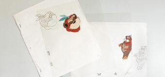 Ewoks Cartoon Animation Cels
