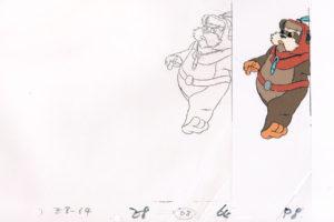 Ewok Animation Cels
