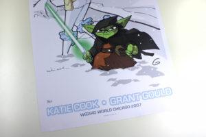 Padme Amidala & Yoda Art Print