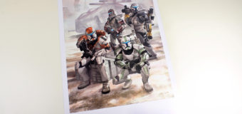 Republic Commando Art Print