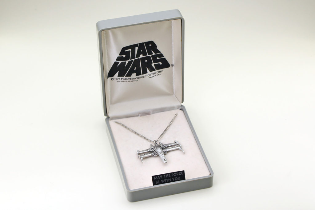 Vintage X-Wing Necklace