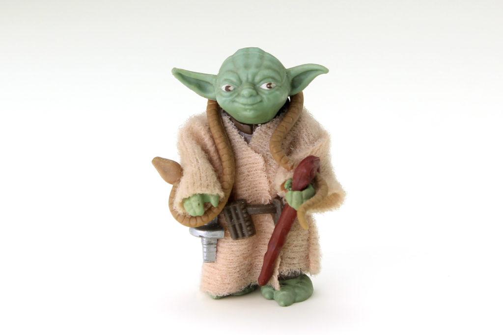 Vintage Yoda Action Figure