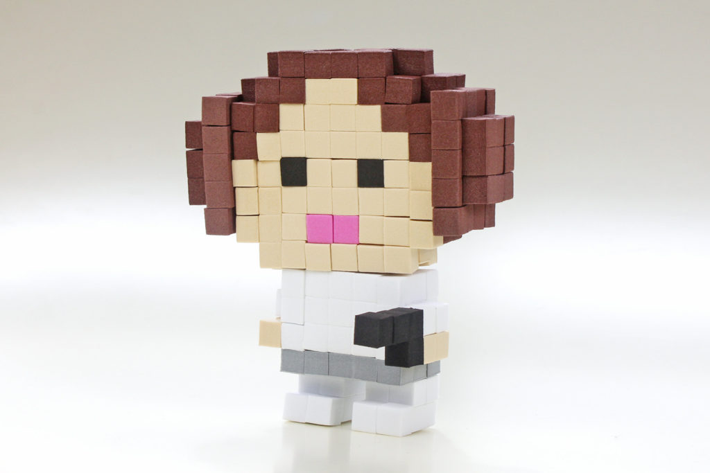 Pixel Pop Princess Leia