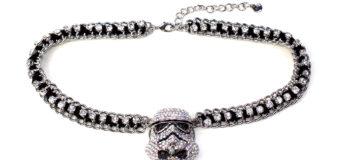 Rhinestone Stormtrooper Necklace