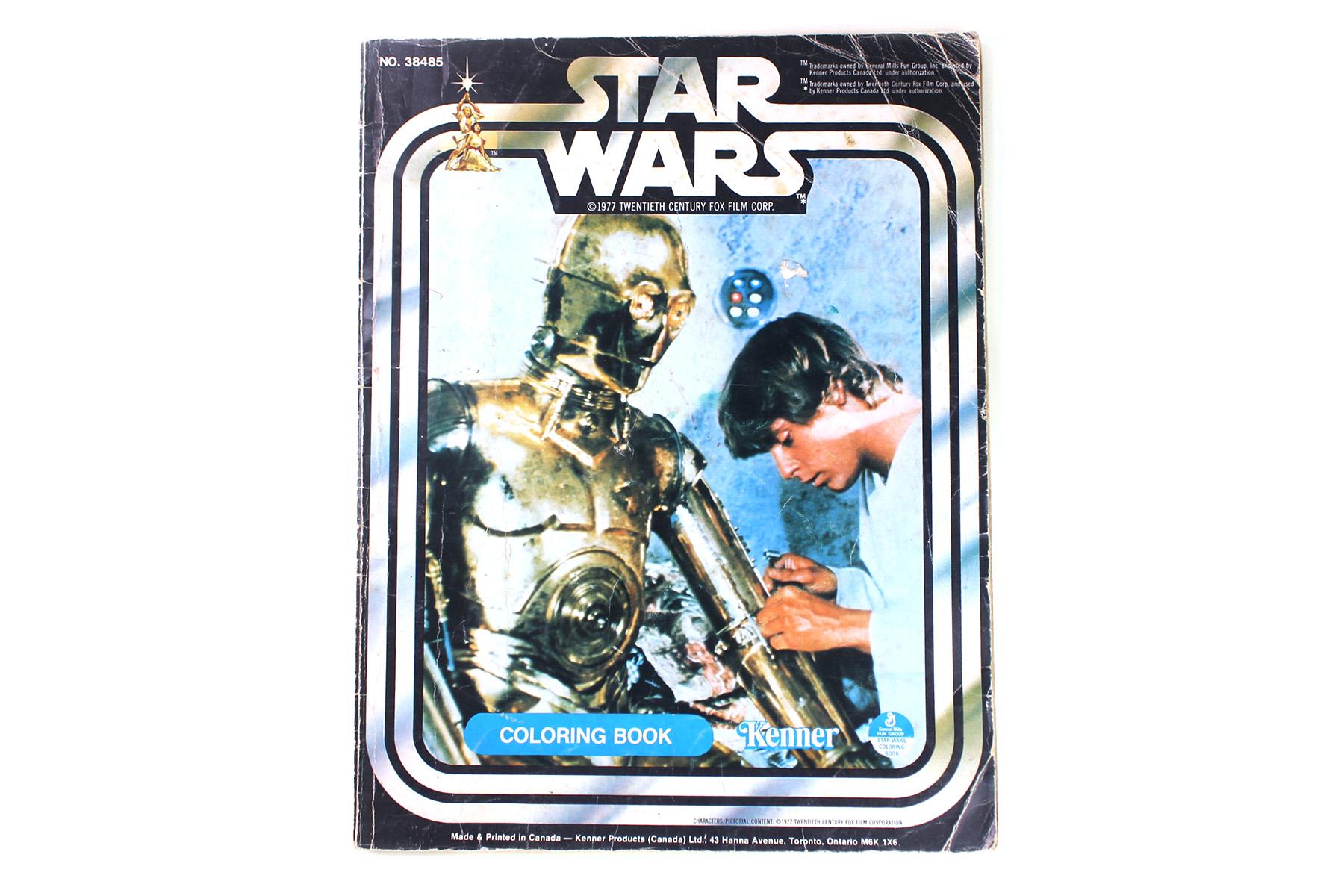 Star Wars Coloring Book - 1977 - Villa Varykino