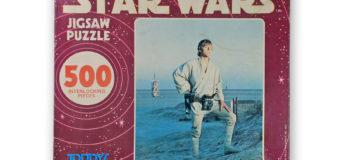 Luke Skywalker Jigsaw (Toltoys, 1977)