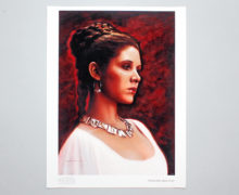 Tears for Alderaan art print