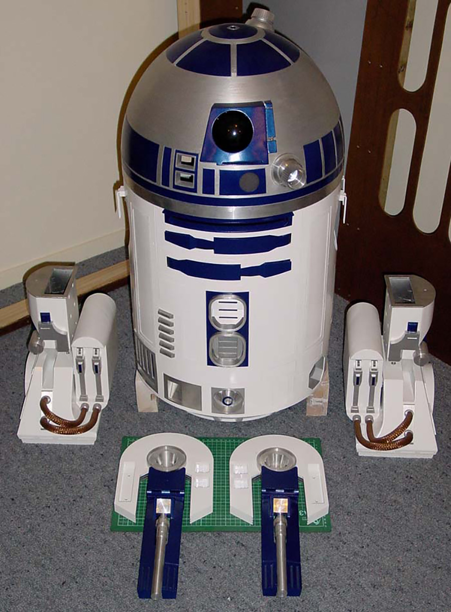 R2-D2 test assembly