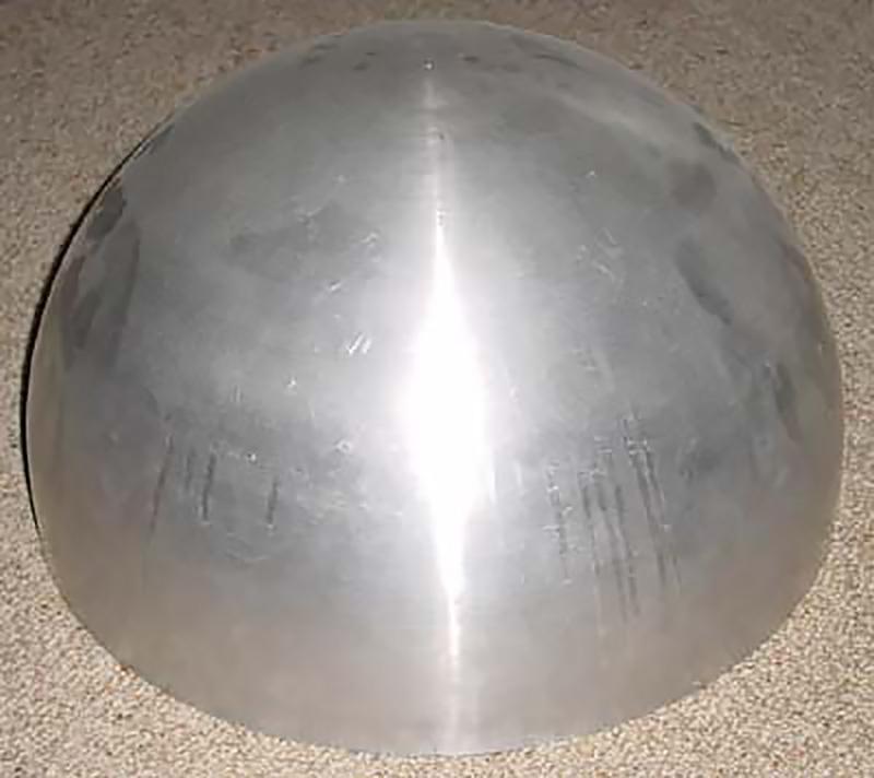 R2-D2 aluminium dome inner