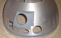 R2-D2 aluminium dome