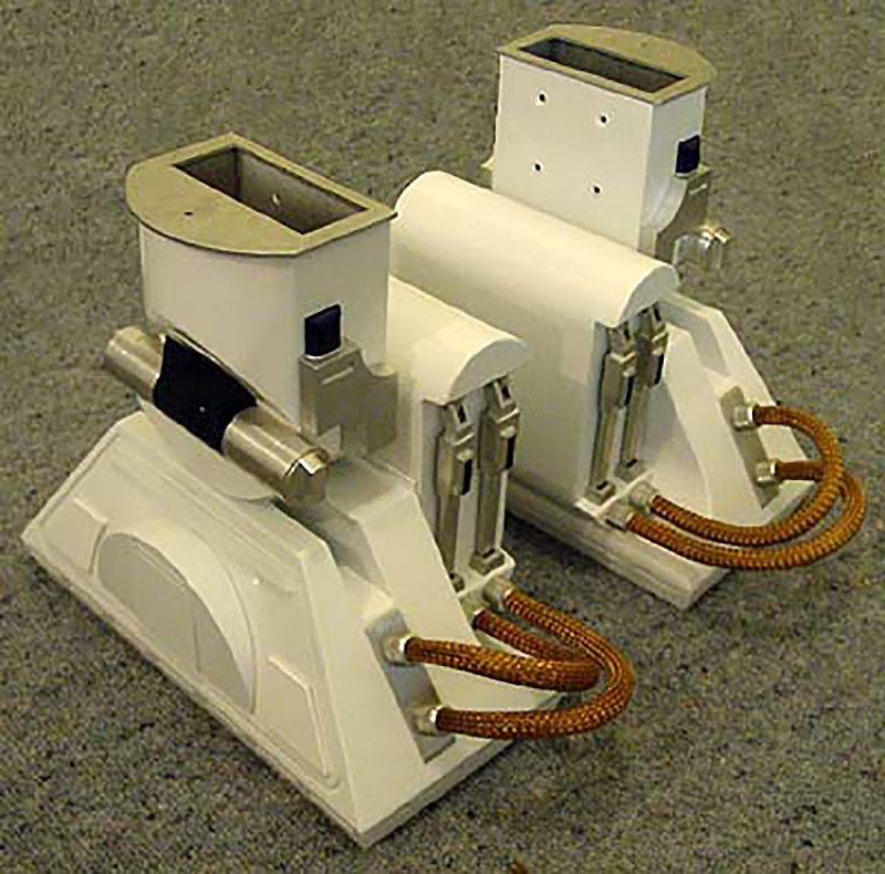 R2-D2 steel foot, aluminium ankle and battery box