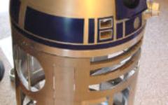 R2-D2 aluminium body and dome