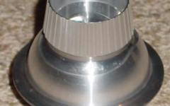 R2-D2 aluminium holoprojector