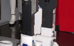 R2-D2 plastic legs with aluminium shoulder components