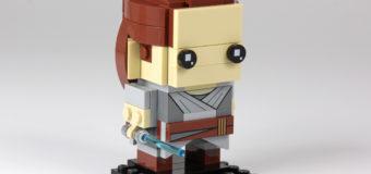 Rey LEGO Brick Headz Figure