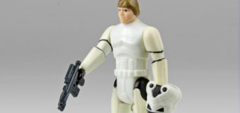 Vintage Luke Skywalker, Stormtrooper Disguise Action Figure
