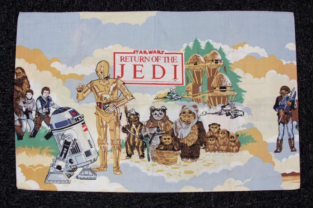 Vintage Return of the Jedi Pillow Case