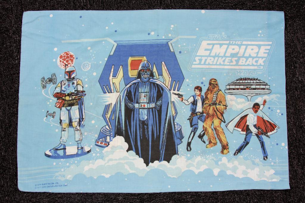 Vintage Empire Strikes Back Pillow Case