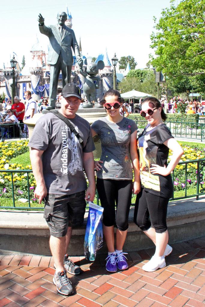 Mickey Mouse an Walt Disney, Disneyland, Anaheim