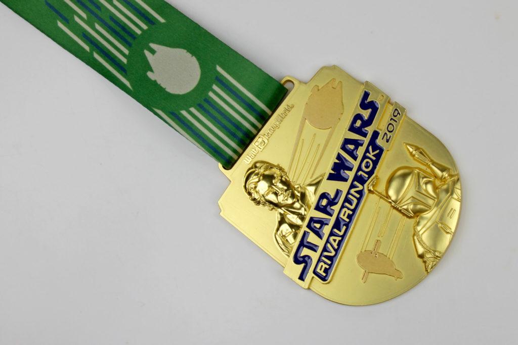 Run Disney Star Wars Rival Run 10K Medal 2019