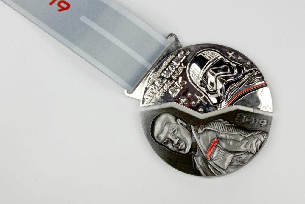Run Disney Star Wars Rival Run 5K Medal 2019