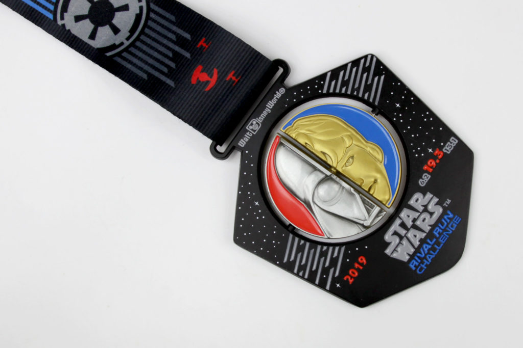 Run Disney Star Wars Rival Run Challenge Medal 2019