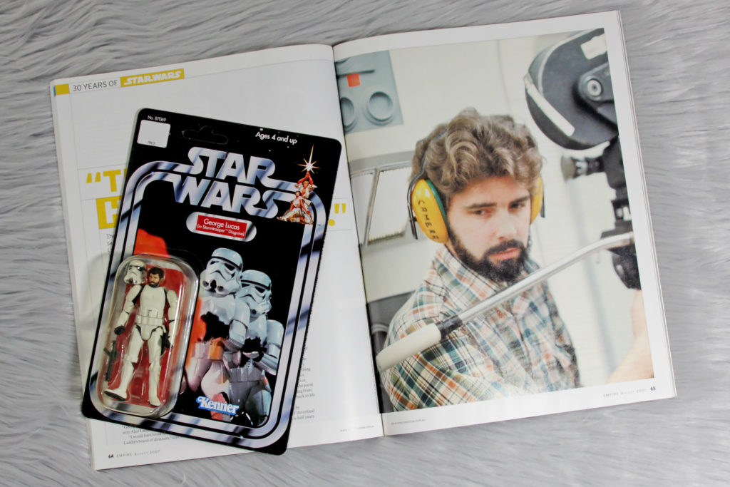 George Lucas (Empire Magazine) and Action Figure