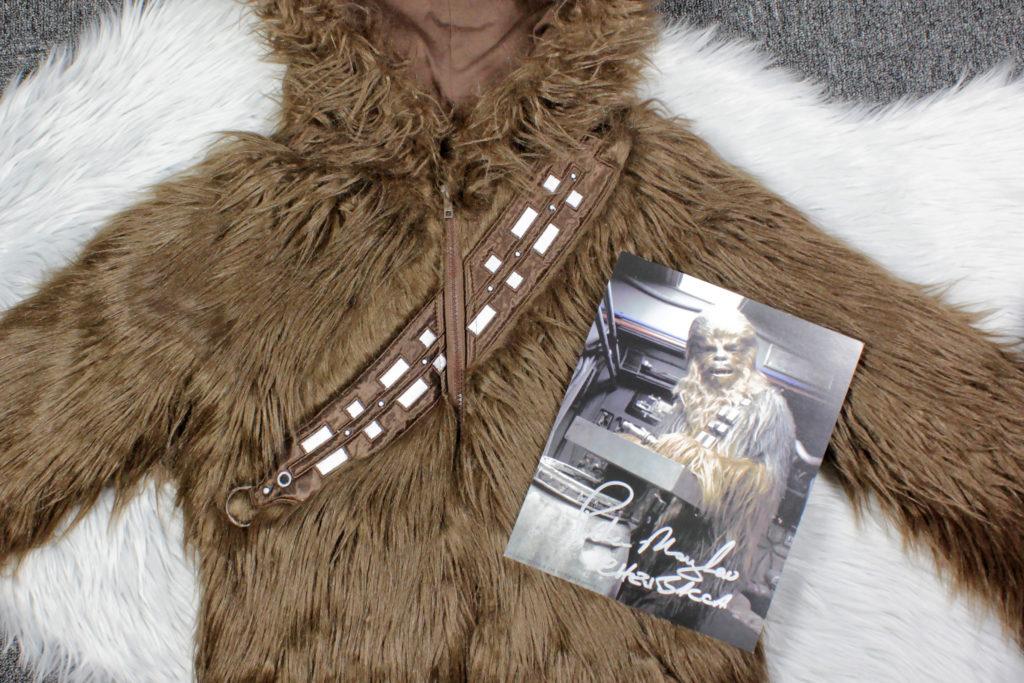 Chewbacca Jacket and Peter Mayhew Autograph