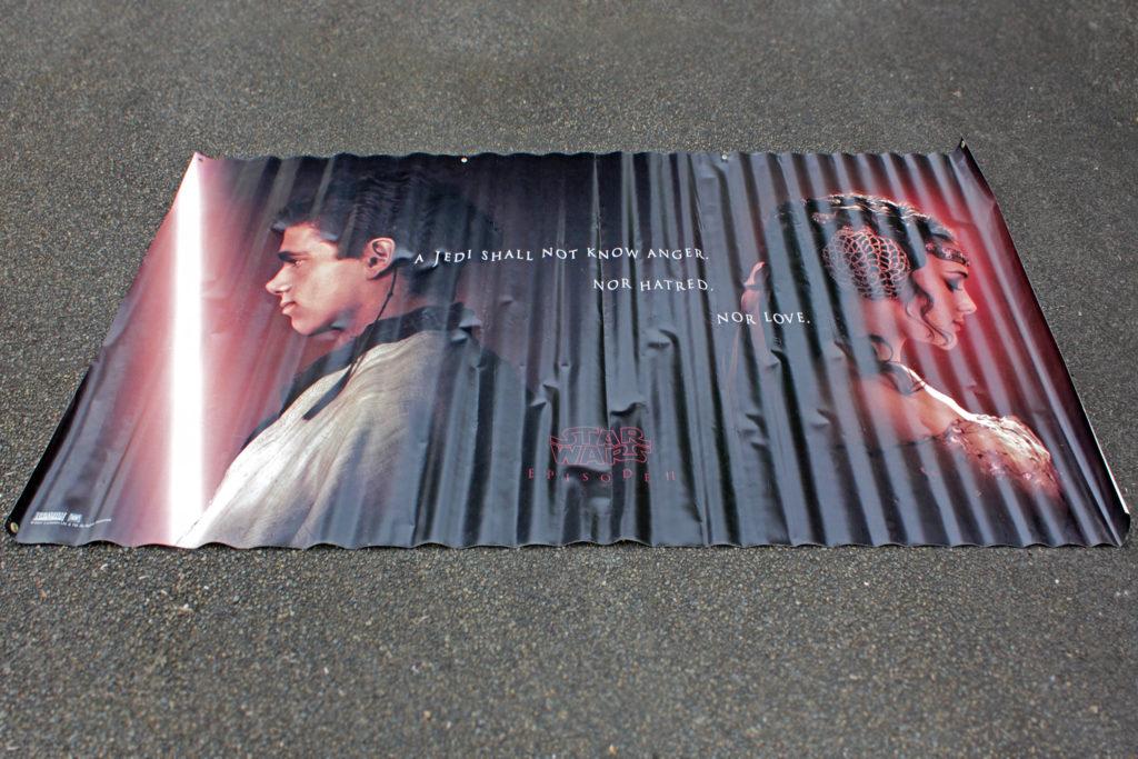 Star Wars Episode II: Attack of the Clones theatre banner