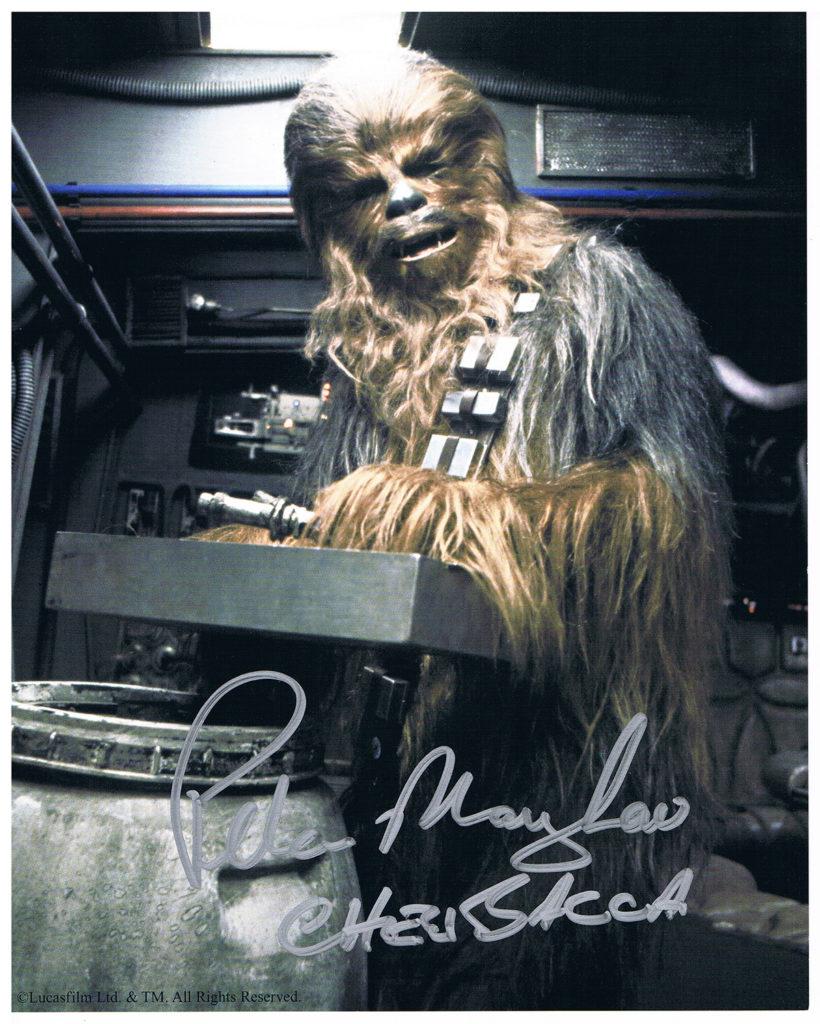 Peter Mayhew Chewbacca Autograph
