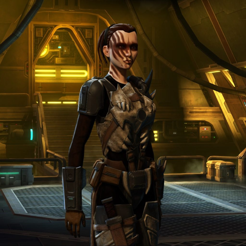 SWTOR - Kamiro Zar-Rel - Powertech Bounty Hunter