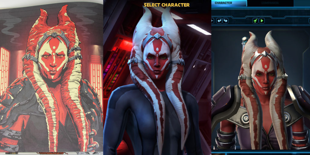 'The Old Republic' Togruta in Star Wars: Alien Archive
