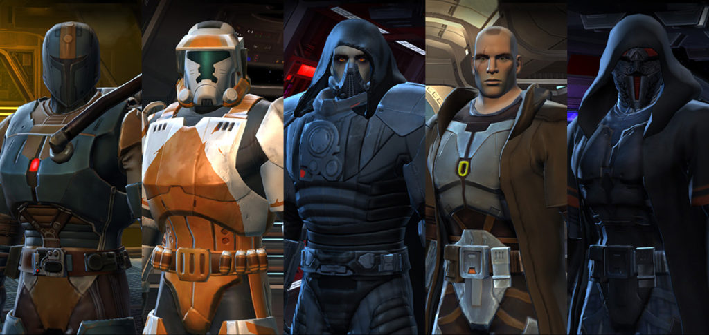 SWTOR Characters - The Furyan Legacy