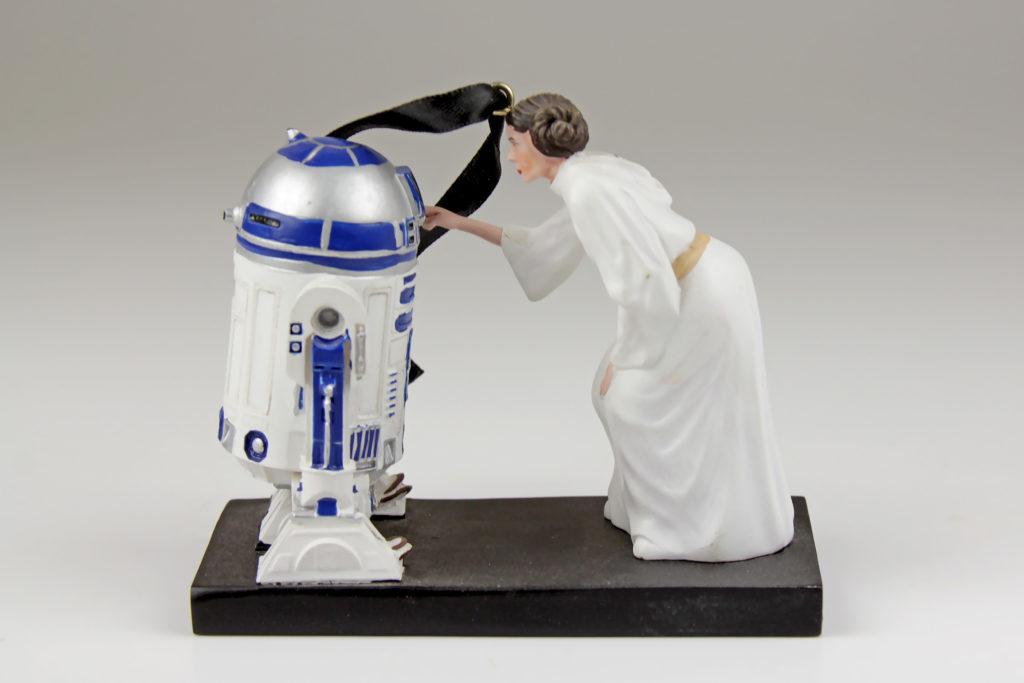 Princess Leia and R2-D2 Ornament