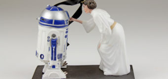 Leia and R2-D2 Ornament