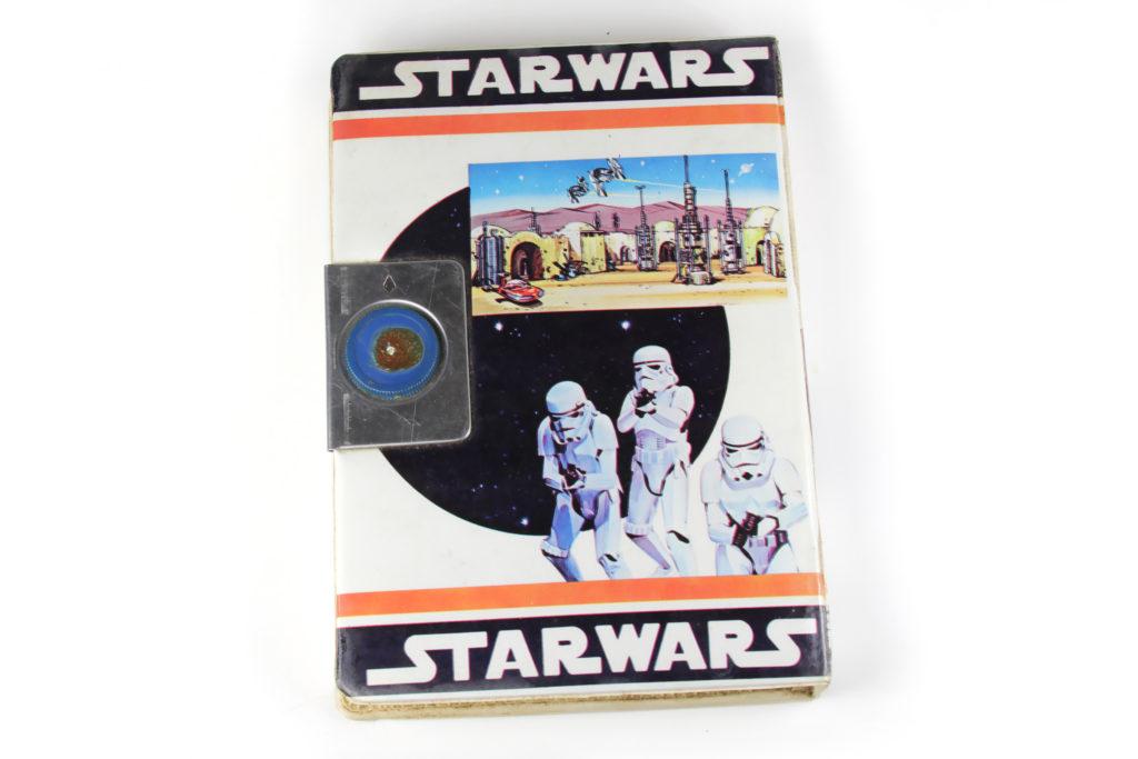 """Vintage Star Wars """"Book"""" Pencil Case"""