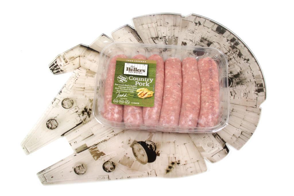 Ronto Wraps Ingredients - Pork Sausages