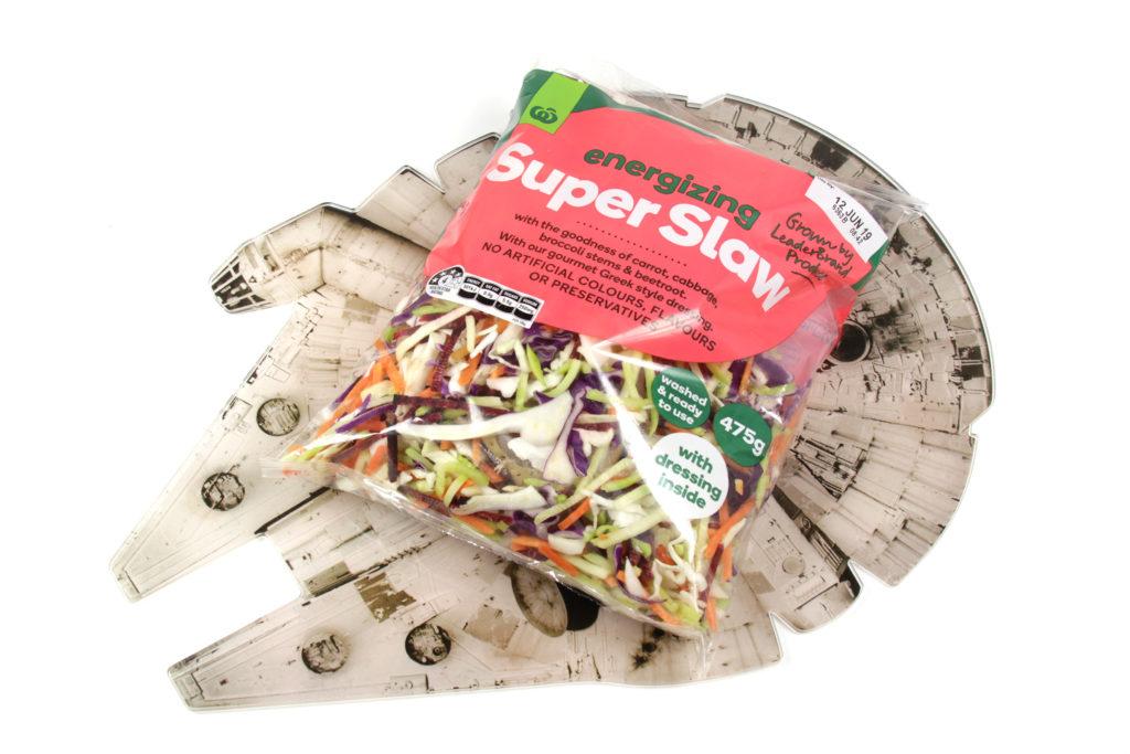 Ronto Wraps Ingredients - Slaw/Coleslaw