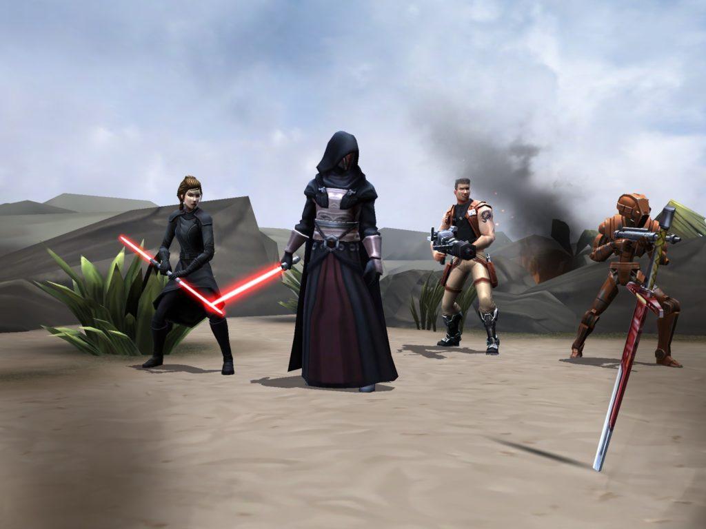 Star Wars Galaxy Of Heroes - Darth Revan event