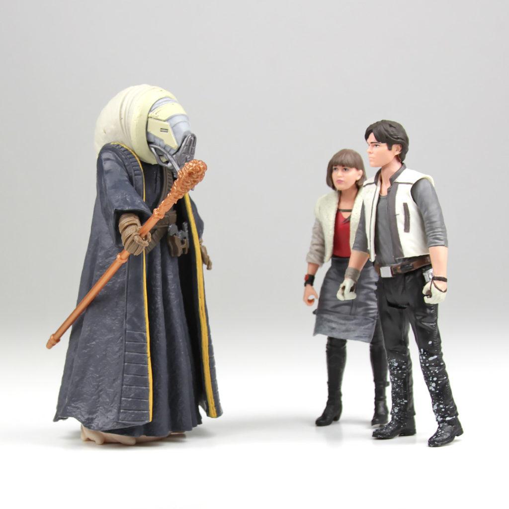 Moloch, Qi'ra, and Han Solo