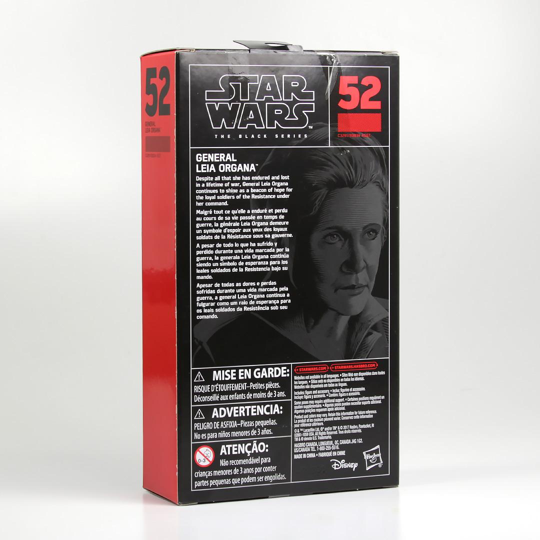 "Black Series 6"" General Leia Action Figure"